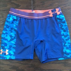 Girls Fitted Under Armour Shorts